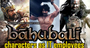 Baahubali in IT company
