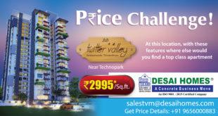 Affordable apartments near Technopark Trivandrum by Desai Homes