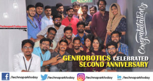 Genrobotics celebrated second anniversary