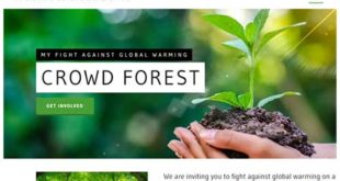 Crowdforest –  Techies initiative to fight against global warming!