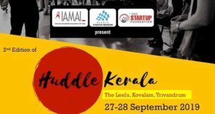 Huddle Kerala 2019: Kerala to host Asia's largest tech startup conclave