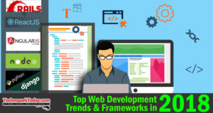 Top Web Development Framework in 2018