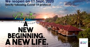 Unwind for a new beginning at Poovar Island Resorts